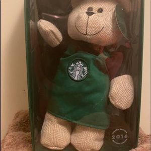 Collectible Starbucks Bear